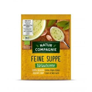 BIO Feine Suppe Bärlauchcreme