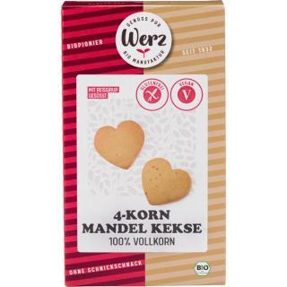 BIO 4-KORN-MANDEL-KEKS