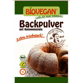 Backpulver vegan