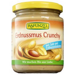 BIO Erdnussmus Crunchy mit Salz
