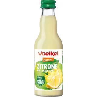 Zitronensaft 100% Direktsaft Demeter
