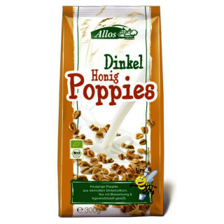 BIO Dinkel Poppies Honig