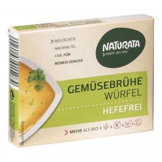 BIO Gemüsebrühe Würfel hefefrei