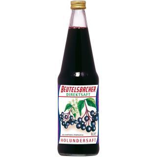 Wildfrucht Holunder, 0,7 ltr Flasche