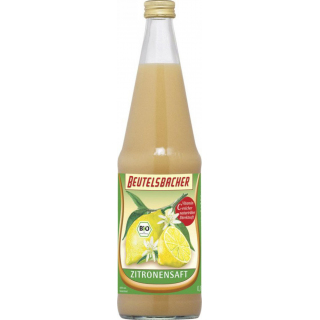 Zitronensaft naturtrüb
