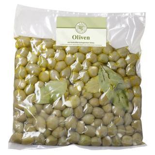 Grie.Oliven m.Mandeln gefüllt