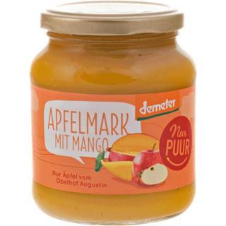 Apfelmark mit Mango  Demeter