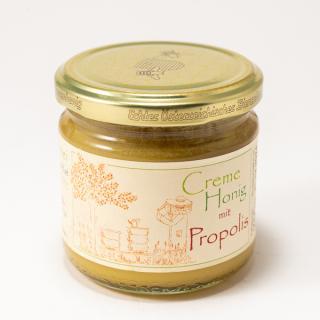 BIO Creme Honig mit Propolis